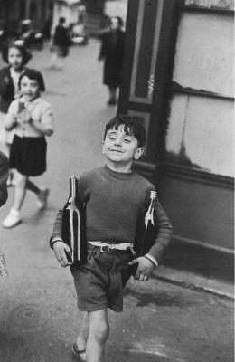 Henri Cartier-Bresson, Rue Mouffetard, 1954
